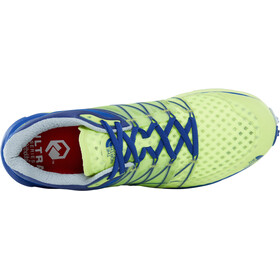 The North Face M's Ultra Vertical Shoes Dayglo Yellow/Brit Blue